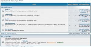 Forum Métiersdelasante.com